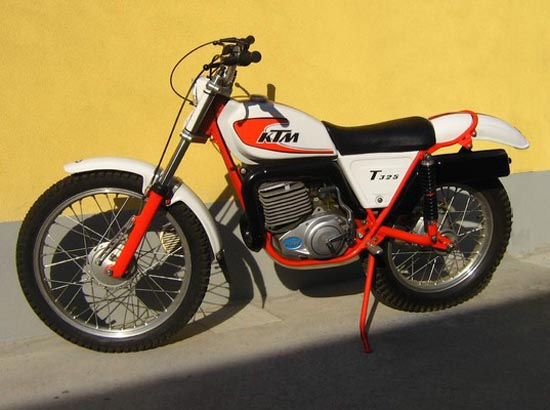 ktm t325 trial prototype 1978 (550×410) | trials | pinterest