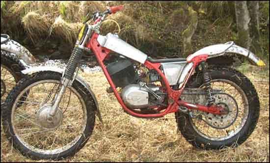 classic motorcycle trials favorite bikes  zealand